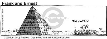 Comic Strip Bob Thaves Tom Thaves  Frank and Ernest 1981-04-10 ruler