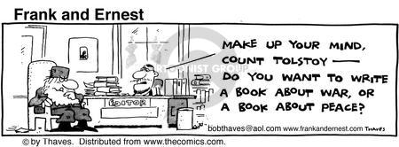 Comic Strip Bob Thaves Tom Thaves  Frank and Ernest 1981-04-30 idea