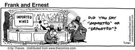 Comic Strip Bob Thaves Tom Thaves  Frank and Ernest 1981-05-05 similar