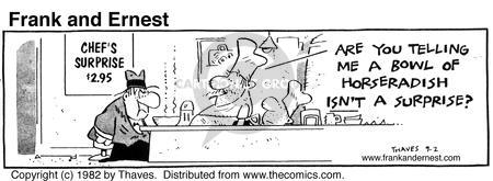 Cartoonist Bob Thaves Tom Thaves  Frank and Ernest 1982-09-02 counter