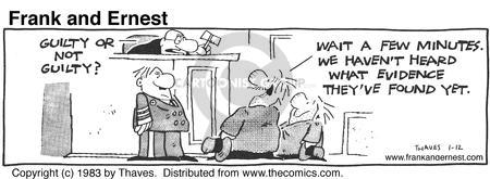 Comic Strip Bob Thaves Tom Thaves  Frank and Ernest 1983-01-12 truth