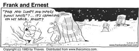 Comic Strip Bob Thaves Tom Thaves  Frank and Ernest 1983-03-09 lunar