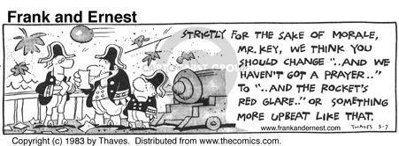 Cartoonist Bob Thaves Tom Thaves  Frank and Ernest 1983-05-07 star