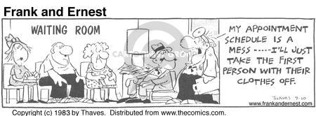 Comic Strip Bob Thaves Tom Thaves  Frank and Ernest 1983-09-10 clothes