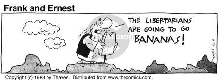 Cartoonist Bob Thaves Tom Thaves  Frank and Ernest 1983-12-09 rule of law