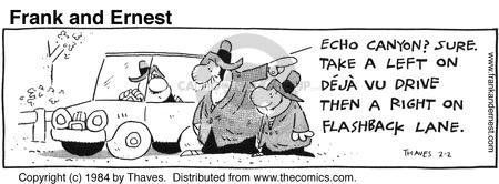 Comic Strip Bob Thaves Tom Thaves  Frank and Ernest 1984-02-02 sound