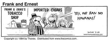 Cartoonist Bob Thaves Tom Thaves  Frank and Ernest 1984-05-28 phrase