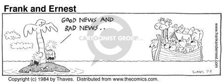 Cartoonist Bob Thaves Tom Thaves  Frank and Ernest 1984-07-03 news
