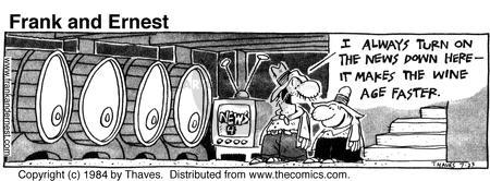 Cartoonist Bob Thaves Tom Thaves  Frank and Ernest 1984-07-23 news