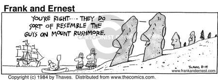 Comic Strip Bob Thaves Tom Thaves  Frank and Ernest 1984-08-14 similar