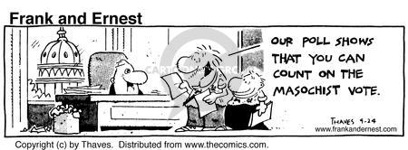 Comic Strip Bob Thaves Tom Thaves  Frank and Ernest 1984-09-24 hill