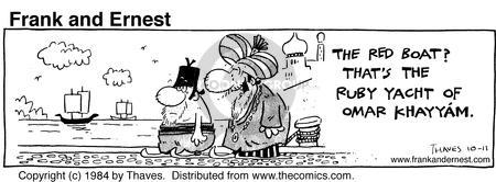 Cartoonist Bob Thaves Tom Thaves  Frank and Ernest 1984-10-11 phrase