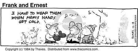 Comic Strip Bob Thaves Tom Thaves  Frank and Ernest 1984-10-18 clothes