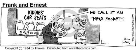 Comic Strip Bob Thaves Tom Thaves  Frank and Ernest 1984-10-20 air