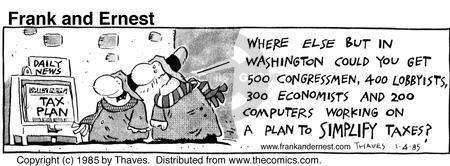 Comic Strip Bob Thaves Tom Thaves  Frank and Ernest 1985-01-04 computer
