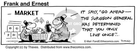 Comic Strip Bob Thaves Tom Thaves  Frank and Ernest 1985-07-23 lifestyle