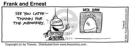 Cartoonist Bob Thaves Tom Thaves  Frank and Ernest 1985-07-26 data