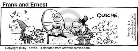 Comic Strip Bob Thaves Tom Thaves  Frank and Ernest 1985-08-31 prepare