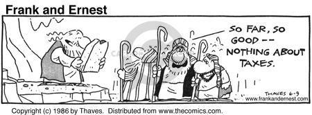 Cartoonist Bob Thaves Tom Thaves  Frank and Ernest 1986-06-09 good
