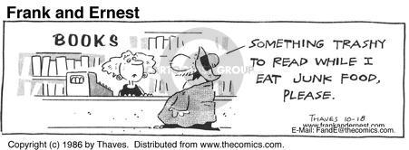 Comic Strip Bob Thaves Tom Thaves  Frank and Ernest 1986-10-18 sale