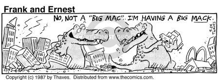 Comic Strip Bob Thaves Tom Thaves  Frank and Ernest 1987-09-24 sound
