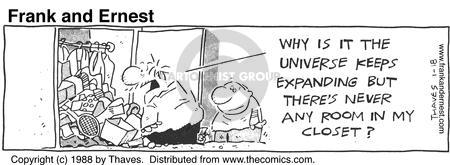 Cartoonist Bob Thaves Tom Thaves  Frank and Ernest 1988-01-18 unorganized