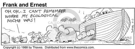 Comic Strip Bob Thaves Tom Thaves  Frank and Ernest 1988-07-19 ecology