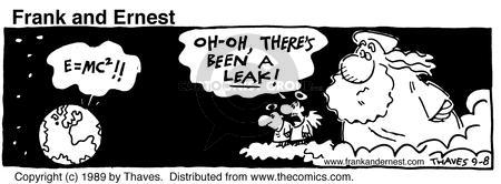 Comic Strip Bob Thaves Tom Thaves  Frank and Ernest 1989-09-08 cloud