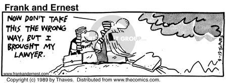 Cartoonist Bob Thaves Tom Thaves  Frank and Ernest 1989-09-19 wrong