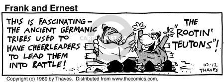 Comic Strip Bob Thaves Tom Thaves  Frank and Ernest 1989-10-12 Germany