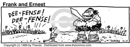 Cartoonist Bob Thaves Tom Thaves  Frank and Ernest 1989-11-11 tiny