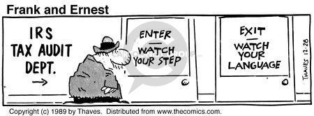 Cartoonist Bob Thaves Tom Thaves  Frank and Ernest 1989-12-28 phrase