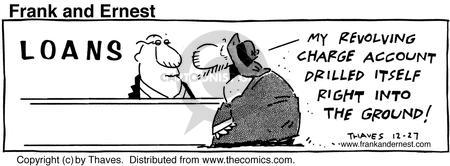 Comic Strip Bob Thaves Tom Thaves  Frank and Ernest 1990-12-27 asset