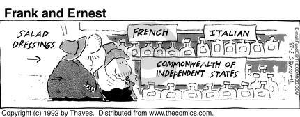 Comic Strip Bob Thaves Tom Thaves  Frank and Ernest 1992-03-23 shelf
