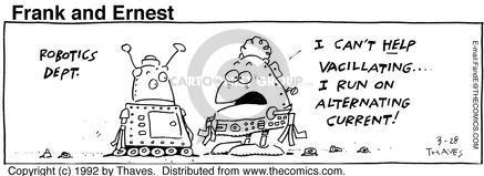 Comic Strip Bob Thaves Tom Thaves  Frank and Ernest 1992-03-28 alternate