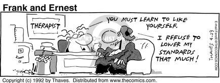 Comic Strip Bob Thaves Tom Thaves  Frank and Ernest 1992-04-29 standard