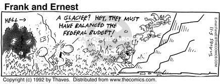 Comic Strip Bob Thaves Tom Thaves  Frank and Ernest 1992-05-11 clod