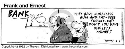 Comic Strip Bob Thaves Tom Thaves  Frank and Ernest 1992-06-09 personal