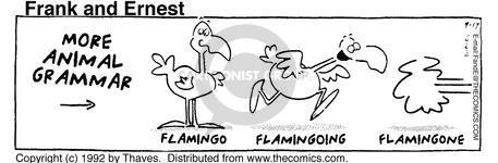 Comic Strip Bob Thaves Tom Thaves  Frank and Ernest 1992-09-17 grammar