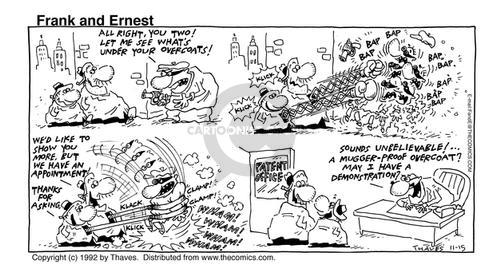 Comic Strip Bob Thaves Tom Thaves  Frank and Ernest 1992-11-15 patent
