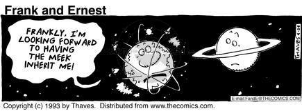 Cartoonist Bob Thaves Tom Thaves  Frank and Ernest 1993-04-24 sky