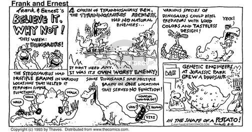 Comic Strip Bob Thaves Tom Thaves  Frank and Ernest 1993-08-15 potato