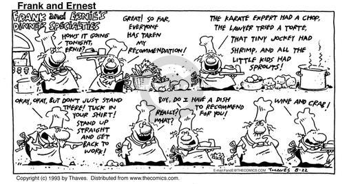 Comic Strip Bob Thaves Tom Thaves  Frank and Ernest 1993-08-22 employee