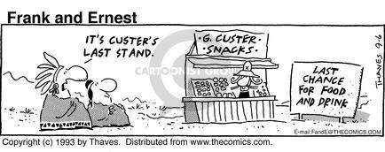 Comic Strip Bob Thaves Tom Thaves  Frank and Ernest 1993-09-06 junk