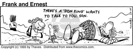 Comic Strip Bob Thaves Tom Thaves  Frank and Ernest 1993-09-10 boxer