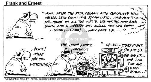 Cartoonist Bob Thaves Tom Thaves  Frank and Ernest 1993-10-24 good life