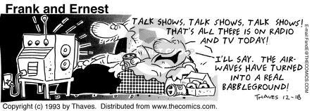 Comic Strip Bob Thaves Tom Thaves  Frank and Ernest 1993-12-18 inform
