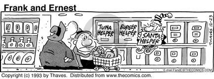 Comic Strip Bob Thaves Tom Thaves  Frank and Ernest 1993-12-23 food additive