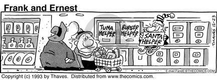 Tuna Helper.  Burger Helper.  Santa Helper.