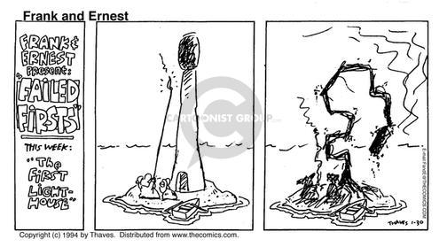 Comic Strip Bob Thaves Tom Thaves  Frank and Ernest 1994-01-30 fail